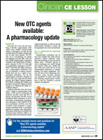 New OTC agents available: A pharmacology update